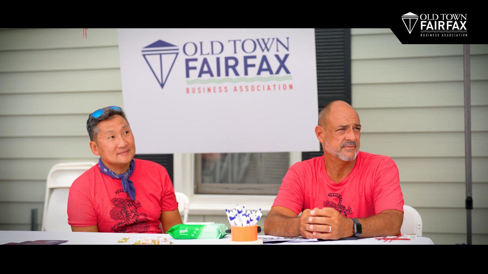 asian festival men at table