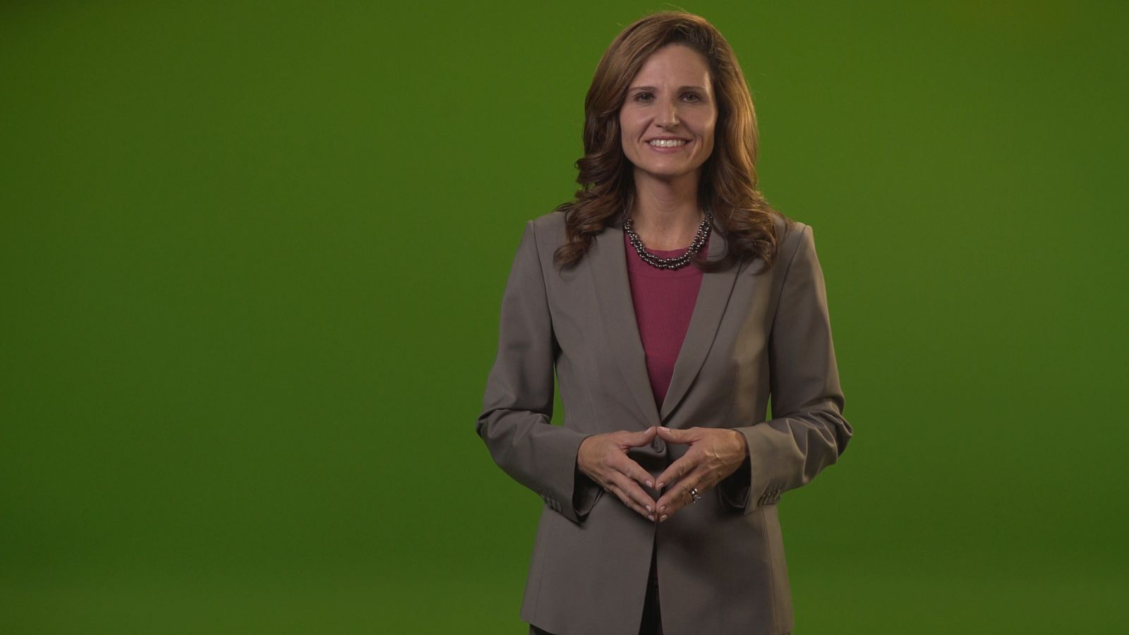 green screen employee training with spokesmodel in fairfax virginia