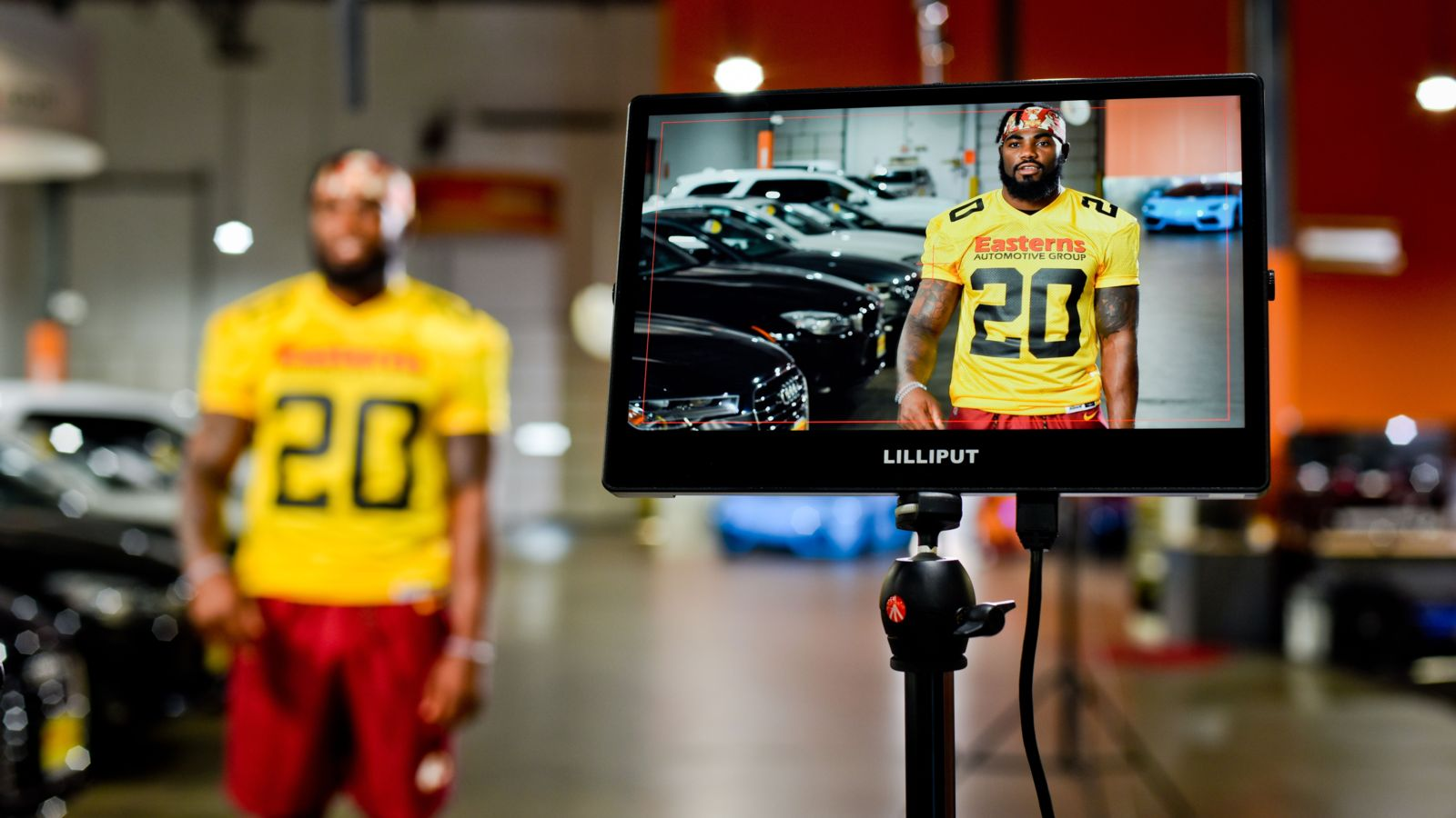 Easterns Automotive D.C. Redskins Commercial