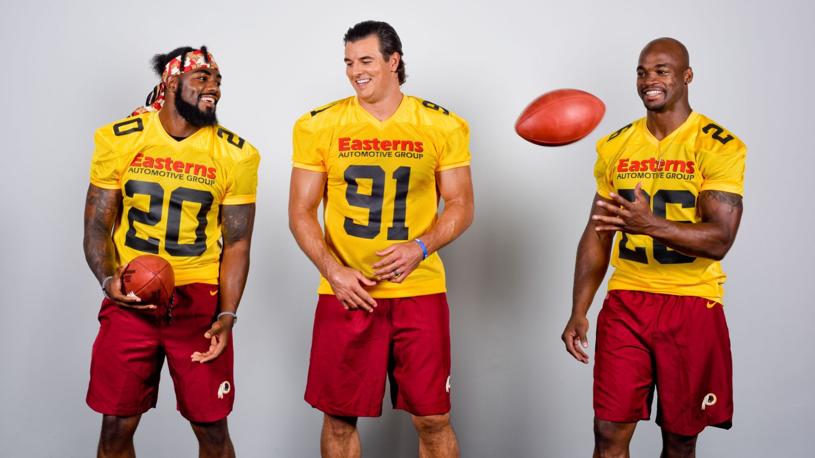 Redskins Commercial Shoot Virginia