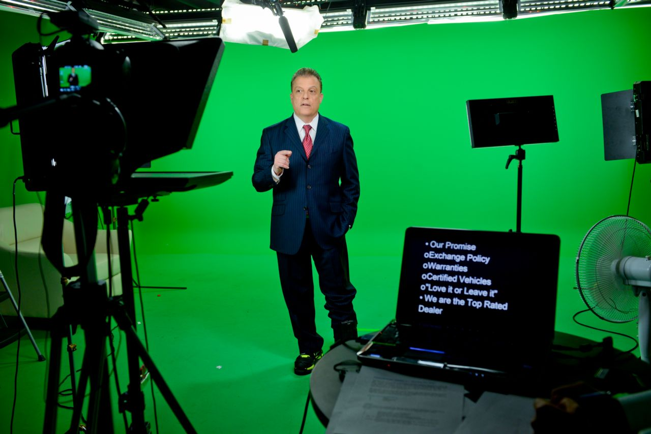Larry Michaels Green Screen Studio Fairfax Virginia