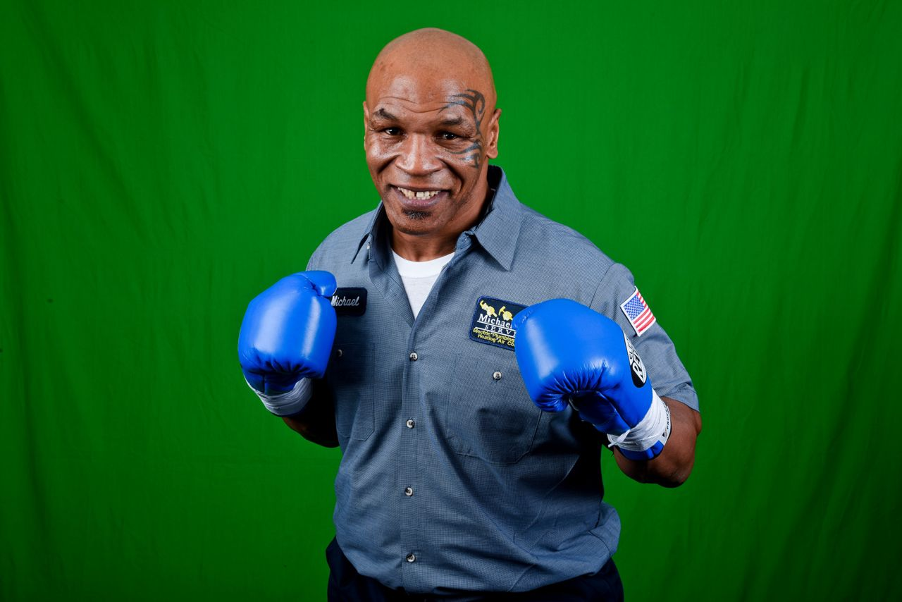 Mike Tyson Green Screen