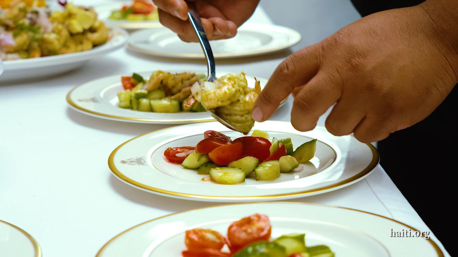 Haitian Embassy Cooking Class Diplomacy Initiative