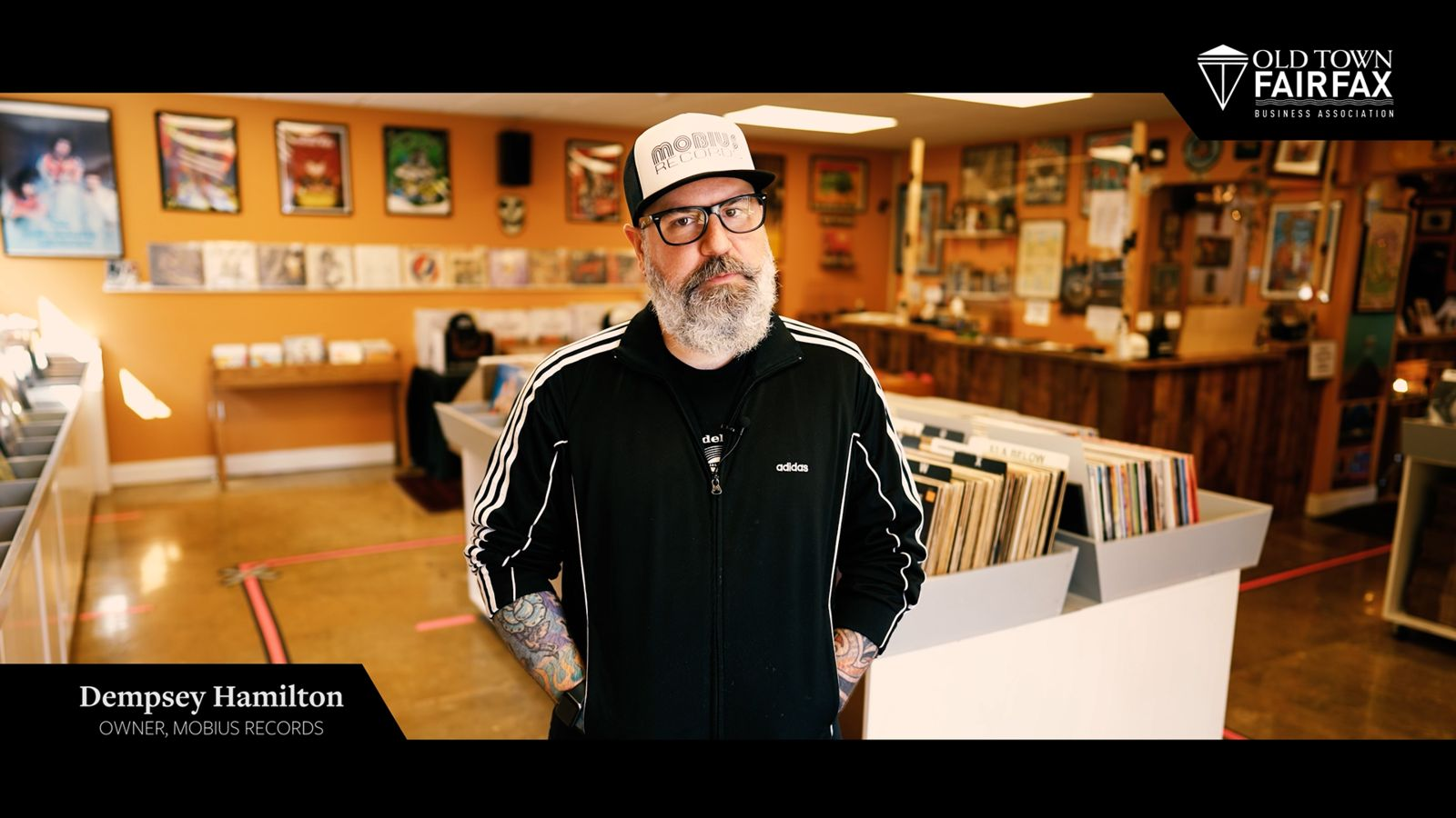 Mobius Records owner