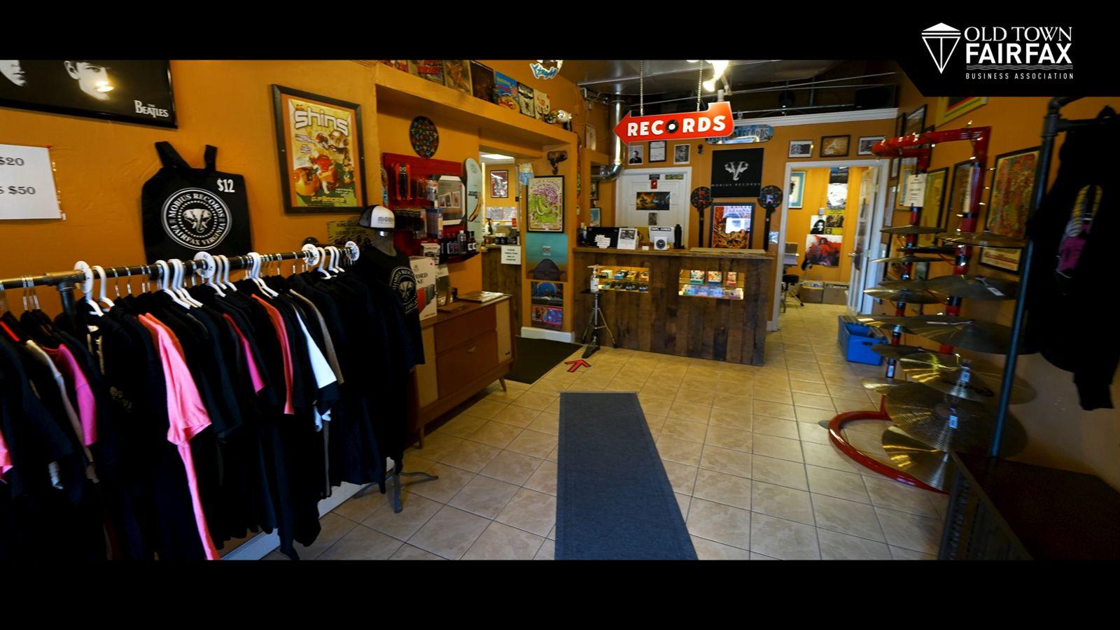Mobius Records interior