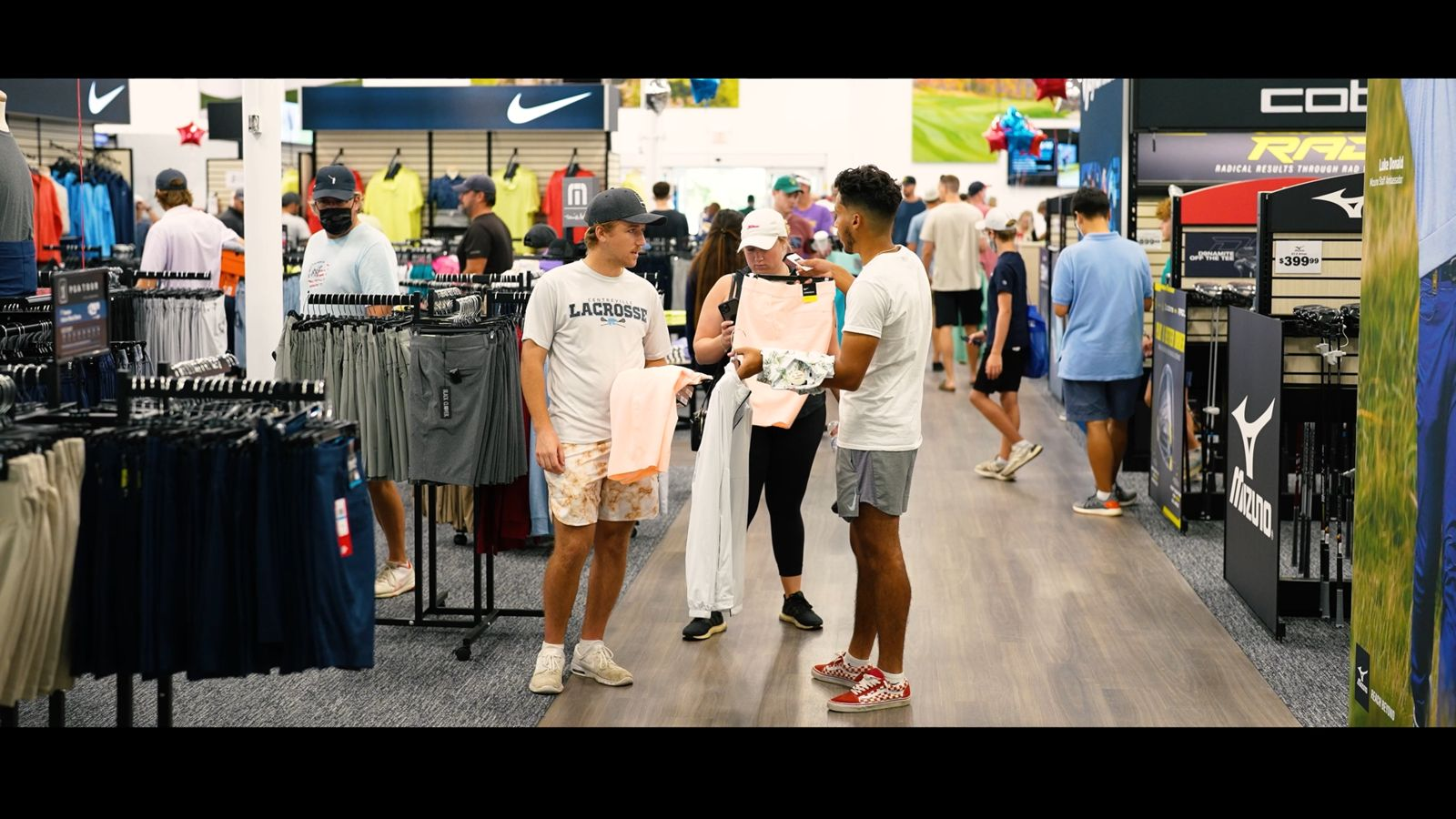 PGA Superstore shoppers