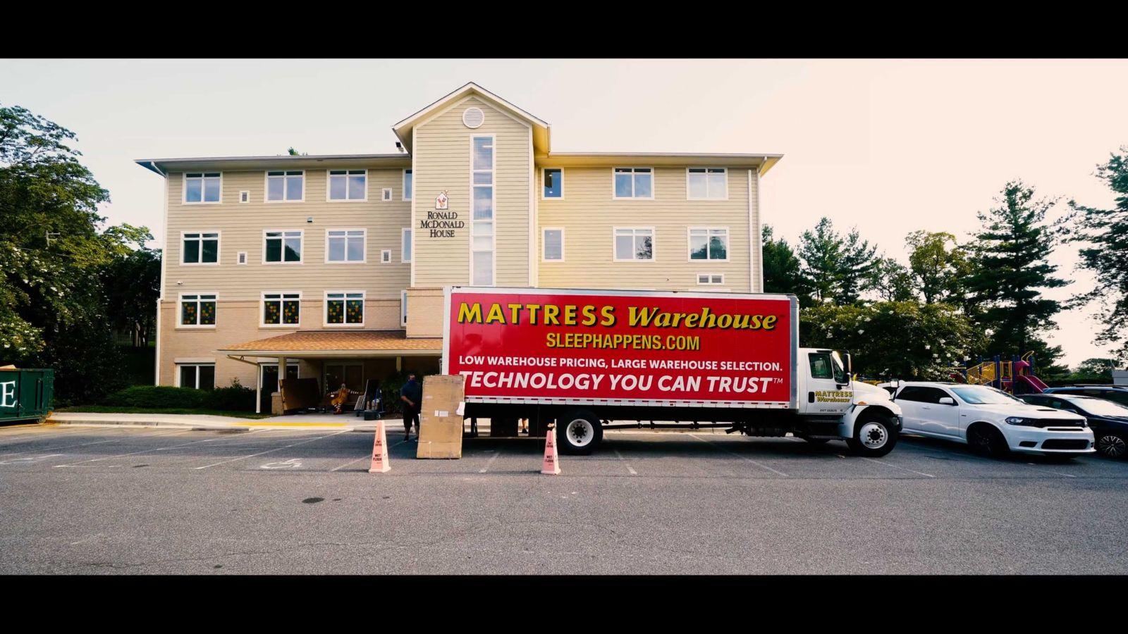 mattress warehouse charity donation