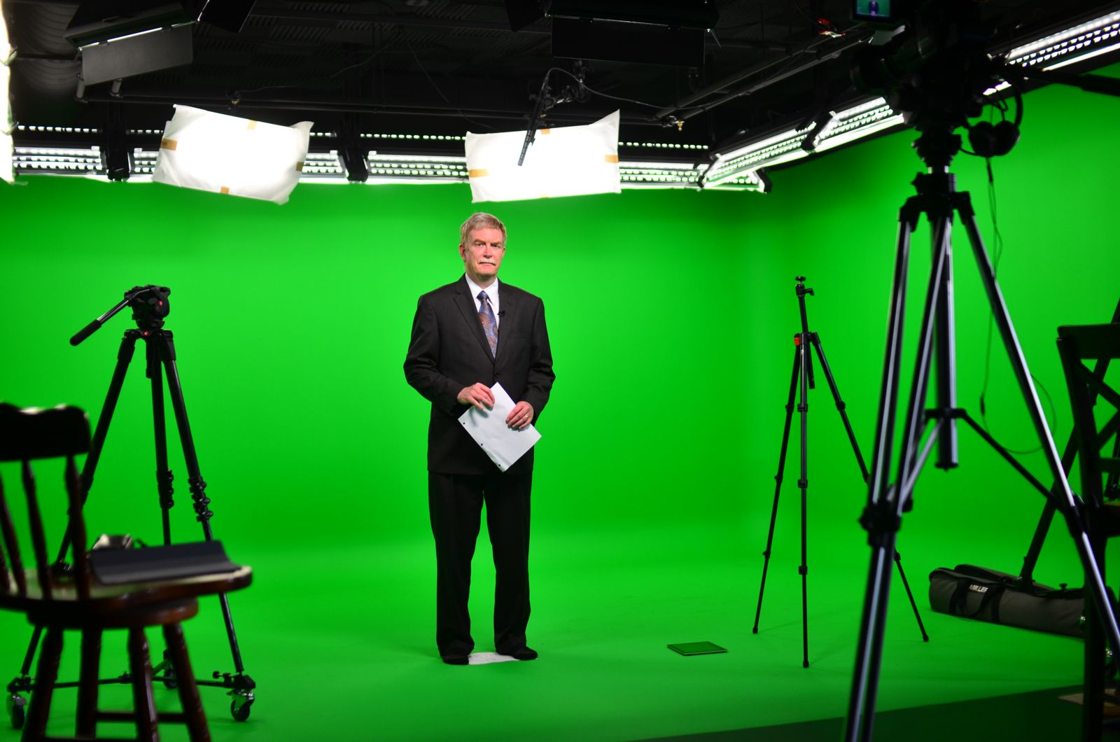 Green screen studio in Fairfax, VA