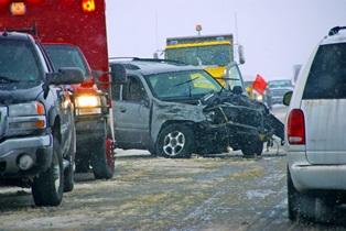 multi-car pileup on highway Kansas City Accident Injury Attorneys