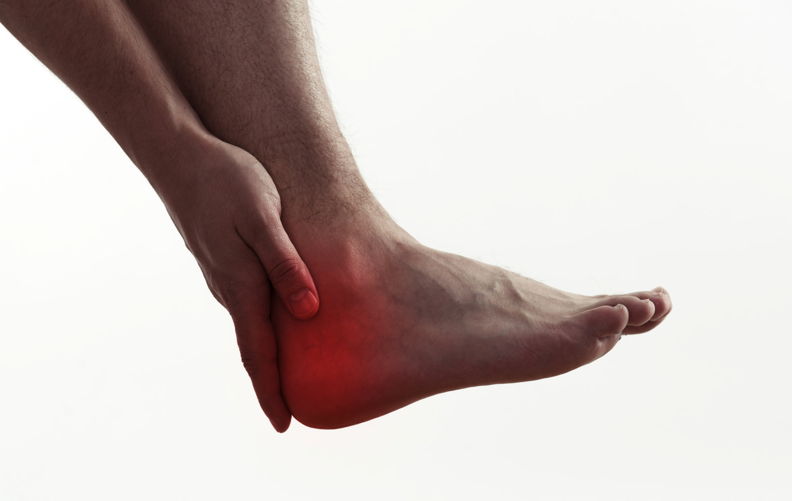 If it feels like there's glass stuck in your heel, you may have a bone spur!