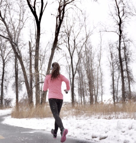 Wearing the right gear can help protect your feet on long, cold runs!