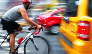 Why dangerous car-bicycle accidents happen