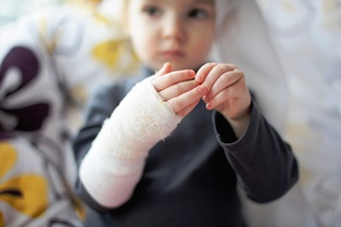 Types of child injuries in San Diego