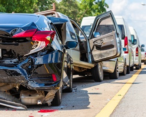 When is the front driver responsible for a rear-end collision?