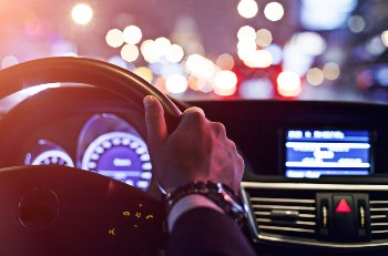 Get help after a nighttime car accident.