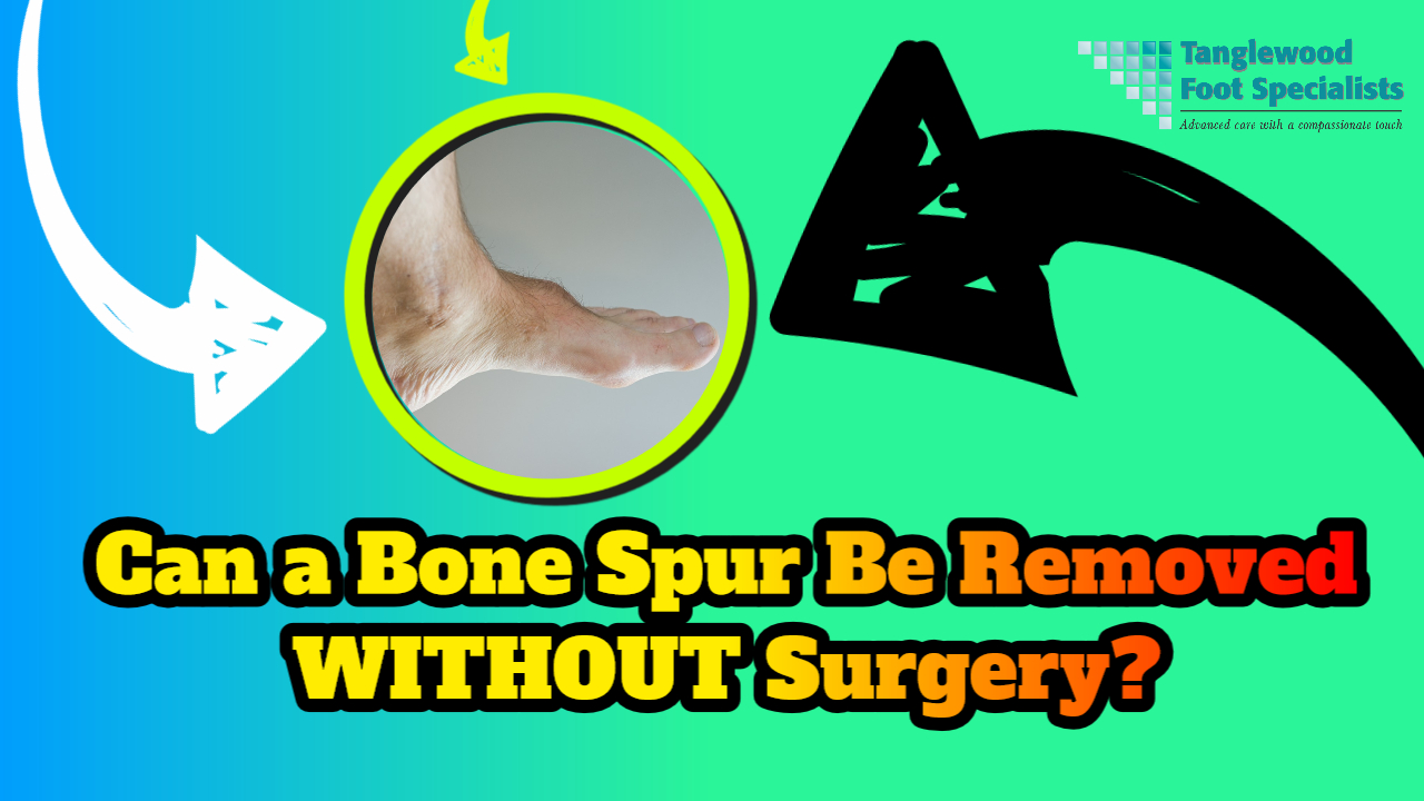 Houston podiatrist discusses removing bone spurs