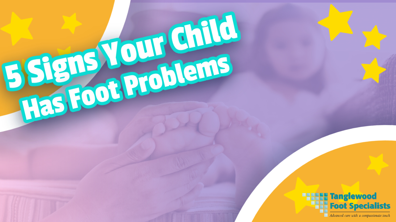 Houston pediatric podiatrist treats foot pain in children