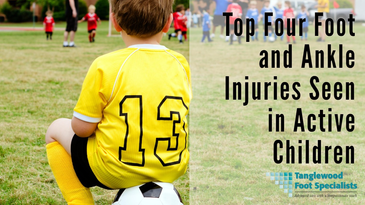 Houston pediatric podiatrist treats foot and ankle injuries of young athletes