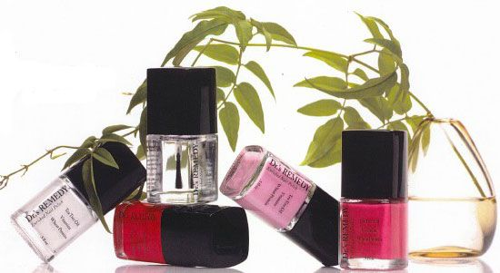 Safe nail polishes, applied in your own home, are a great way to protect your feet