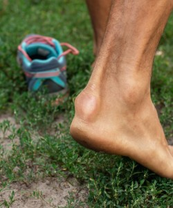 A bumb at the base of your Achilles tendon could be Haglund's deformity