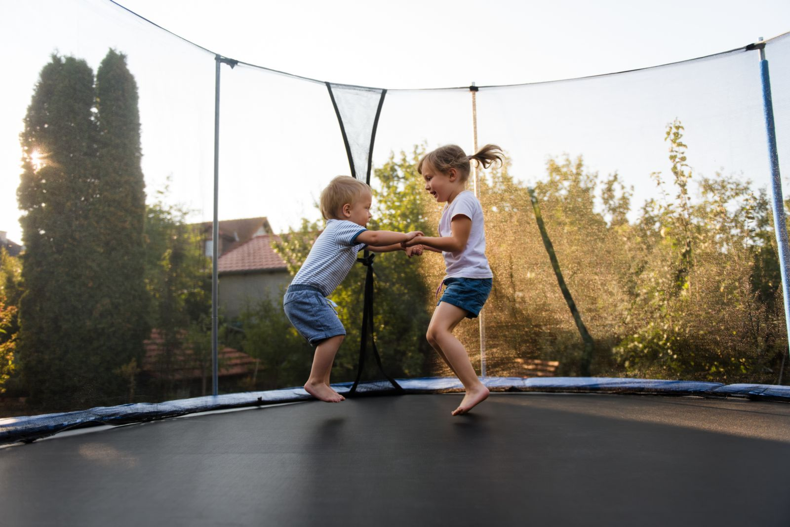 Letting more than one child jump on a trampoline at the same time is simply not safe