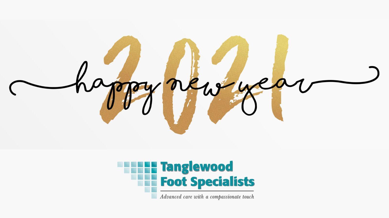 Houston podiatrist wishes you a Happy New Year