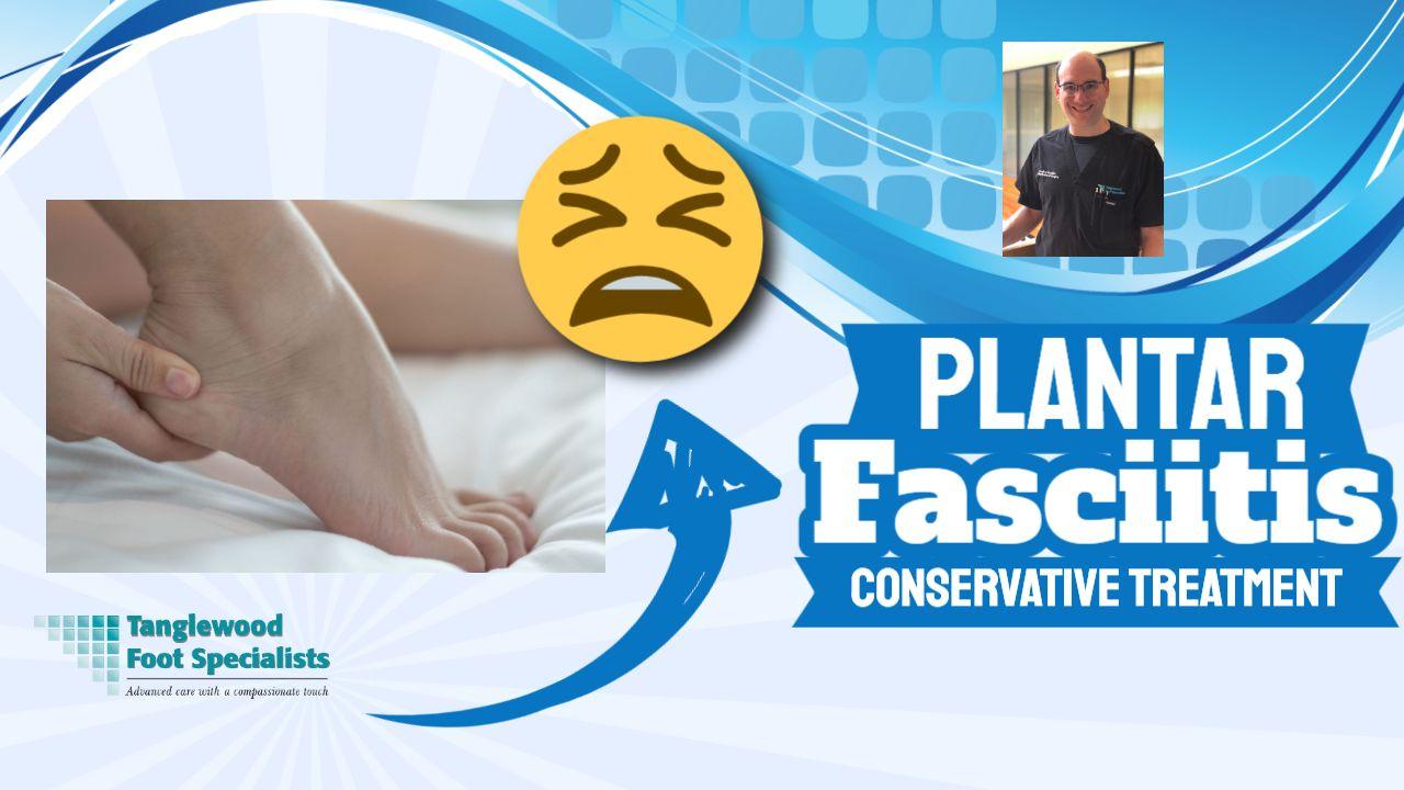 Houston podiatrist discusses conservative care for plantar fasciitis