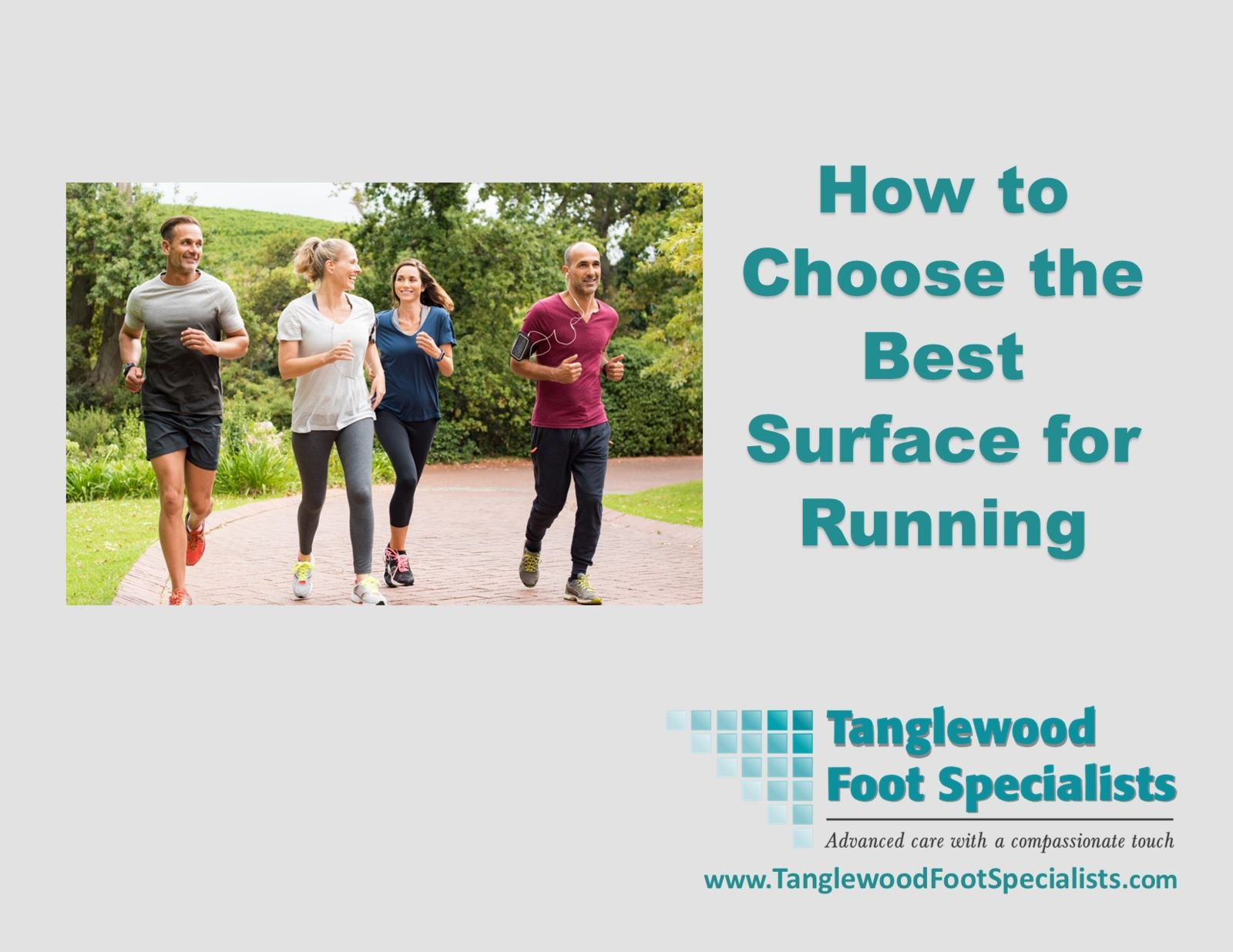 Houston podiatrist discusses what the best running surface is