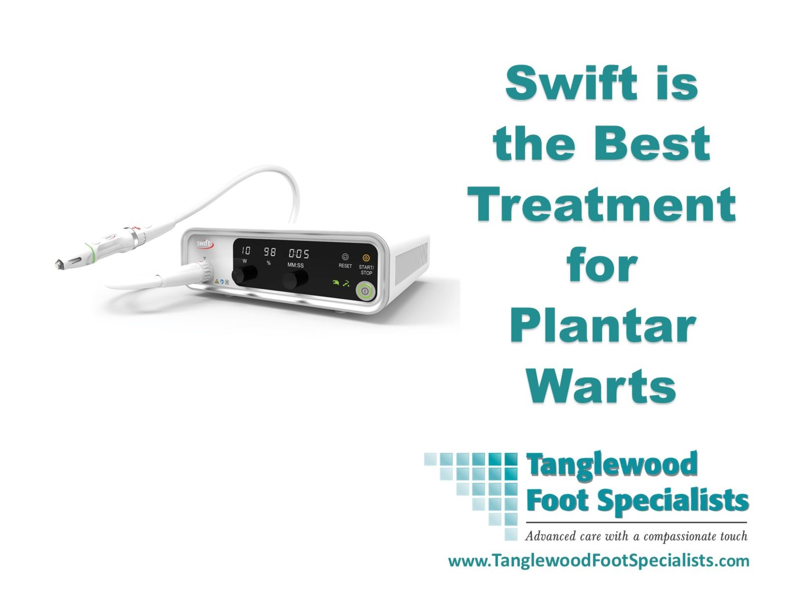 Houston podiatrist recommends Swift treatment for plantar warts