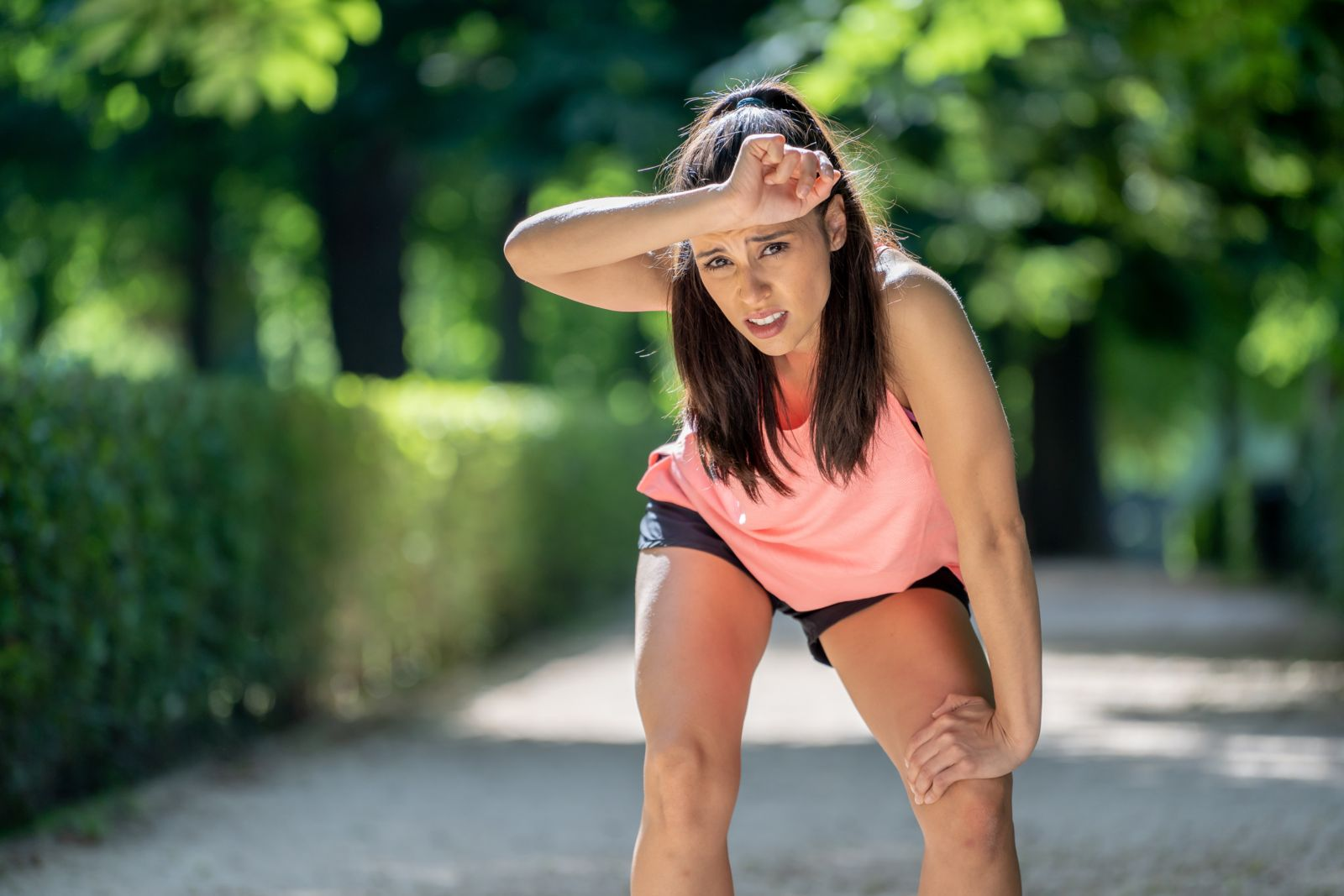 If you're sluggish or in pain, you may need to stop running for a while