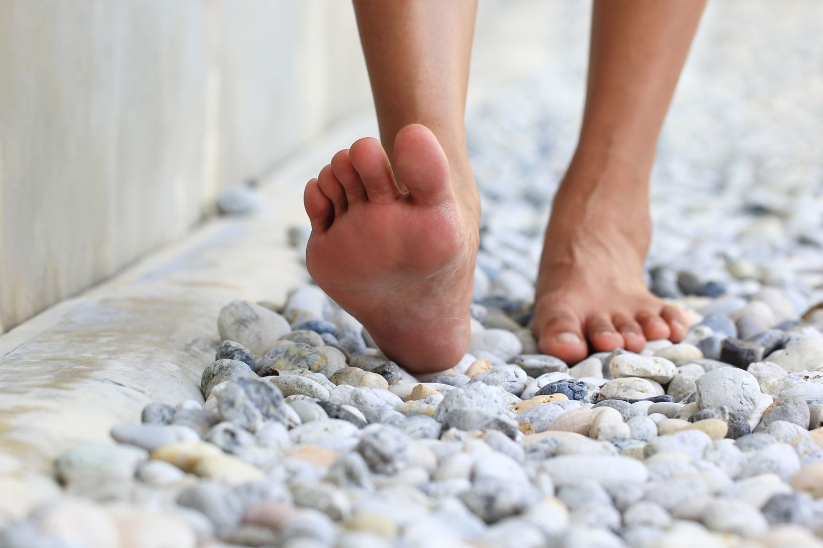 Leneva is a solution to stop you from feeling like you're walking on rocks