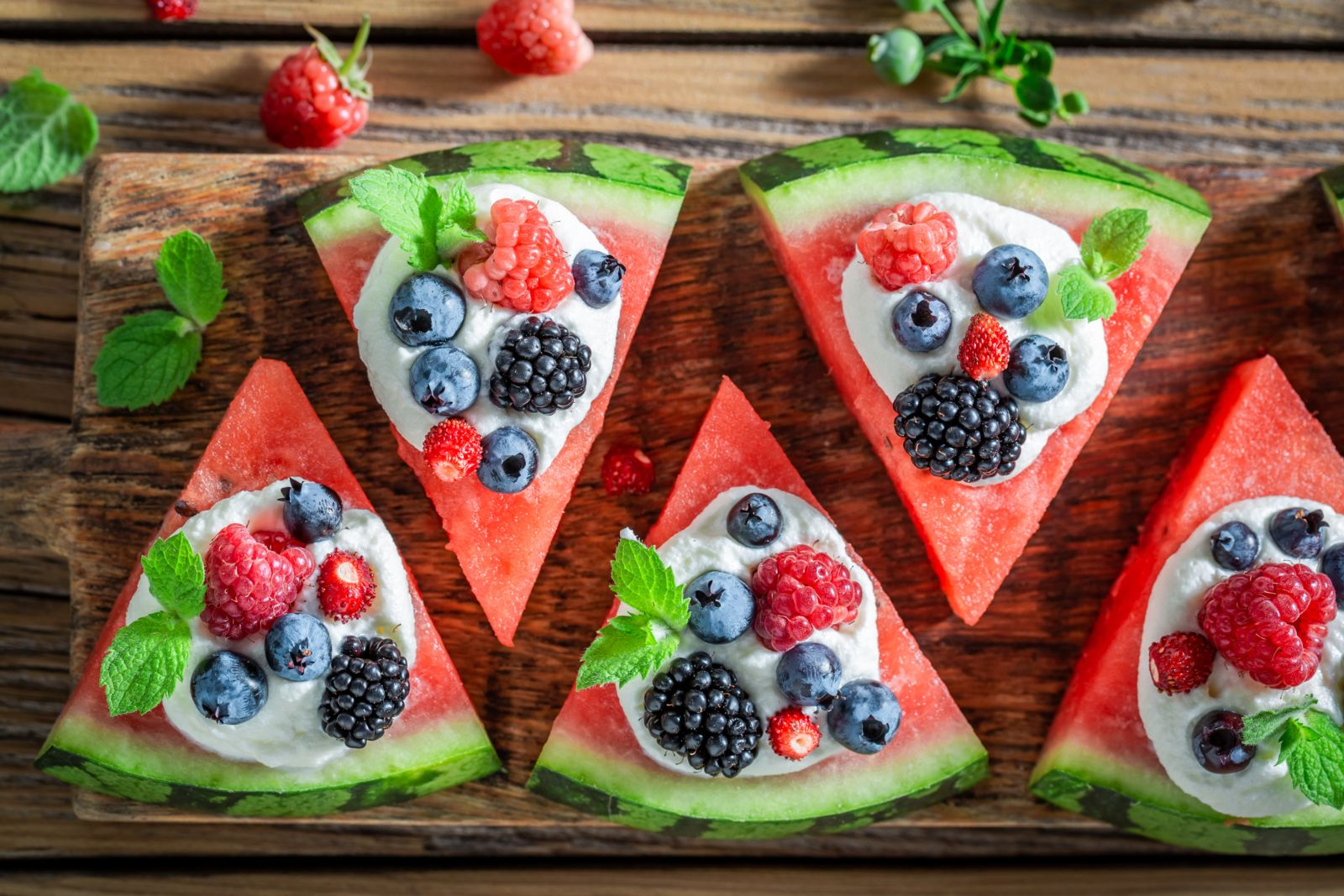 Be part of the Facebook recipe craze with this diabetes-friendly Watermelon Pizza
