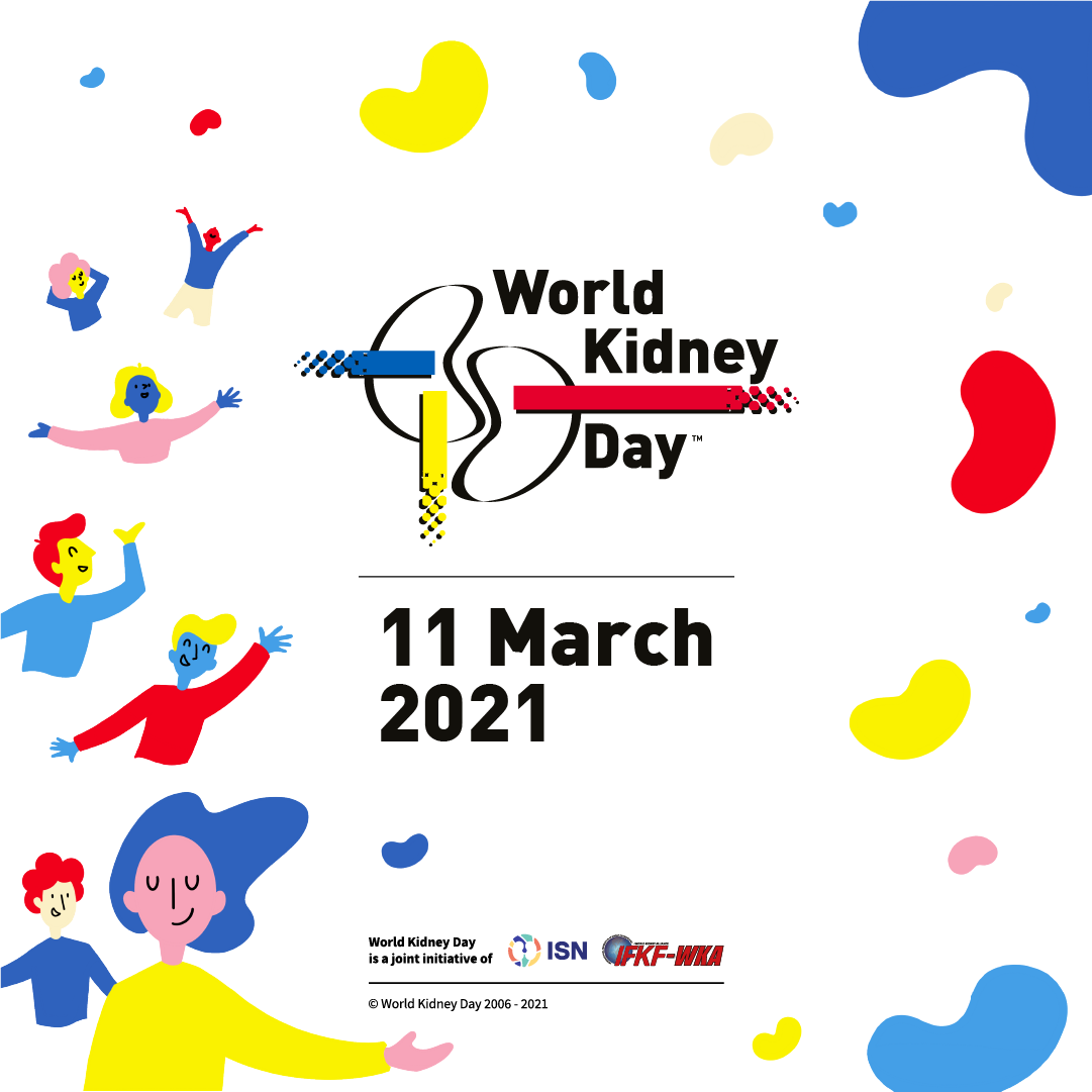 Houston podiatrist celebrating World Kidney Day on March 11, 2021