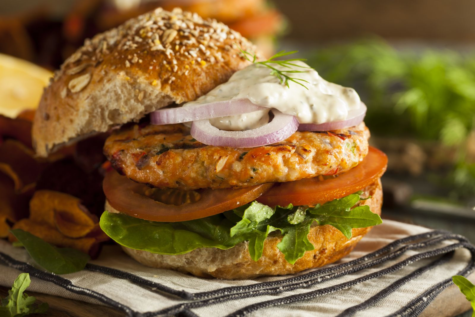 This diabetic-friendly burger can stand up to any other on National Hamburger Day!