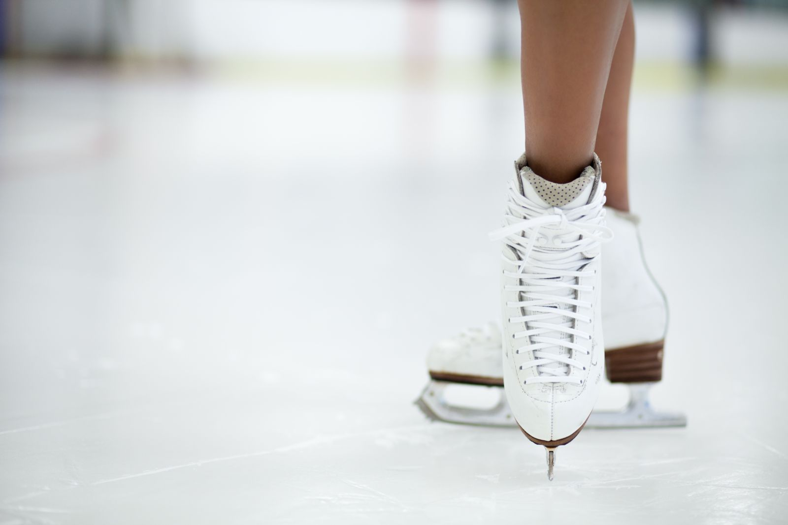 Figure skating causing heel pain