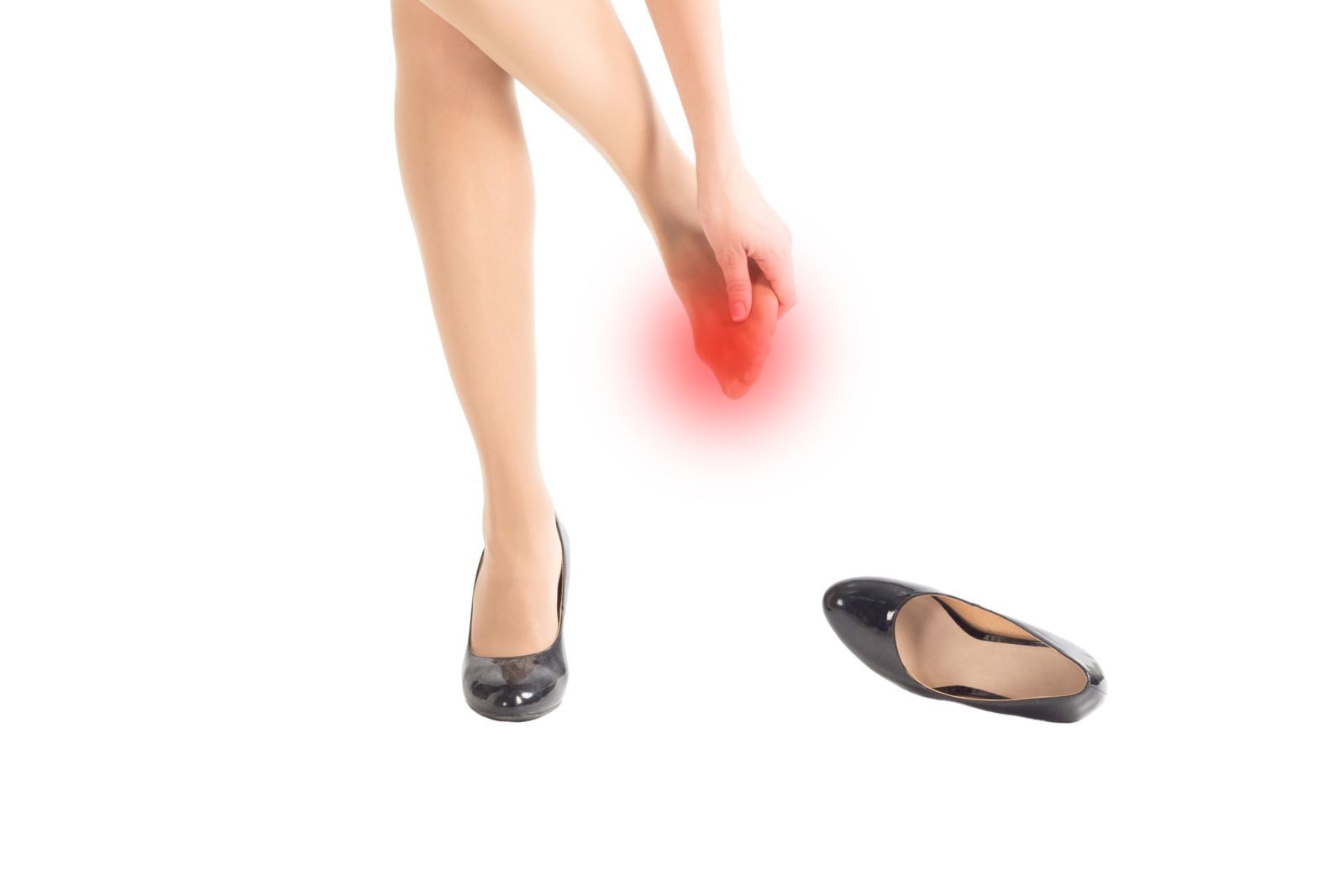Houston podiatrist treats foot pain caused by high heels