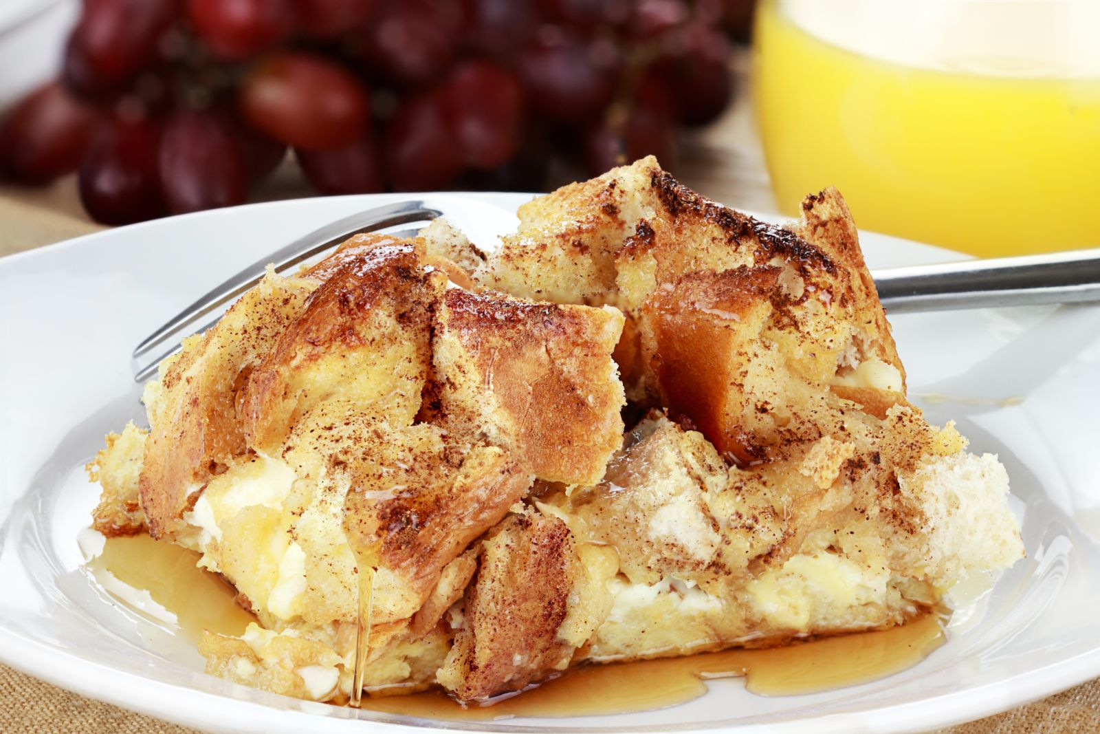 This French Toast casserole has a strong (and diabetes friendly) brunch game