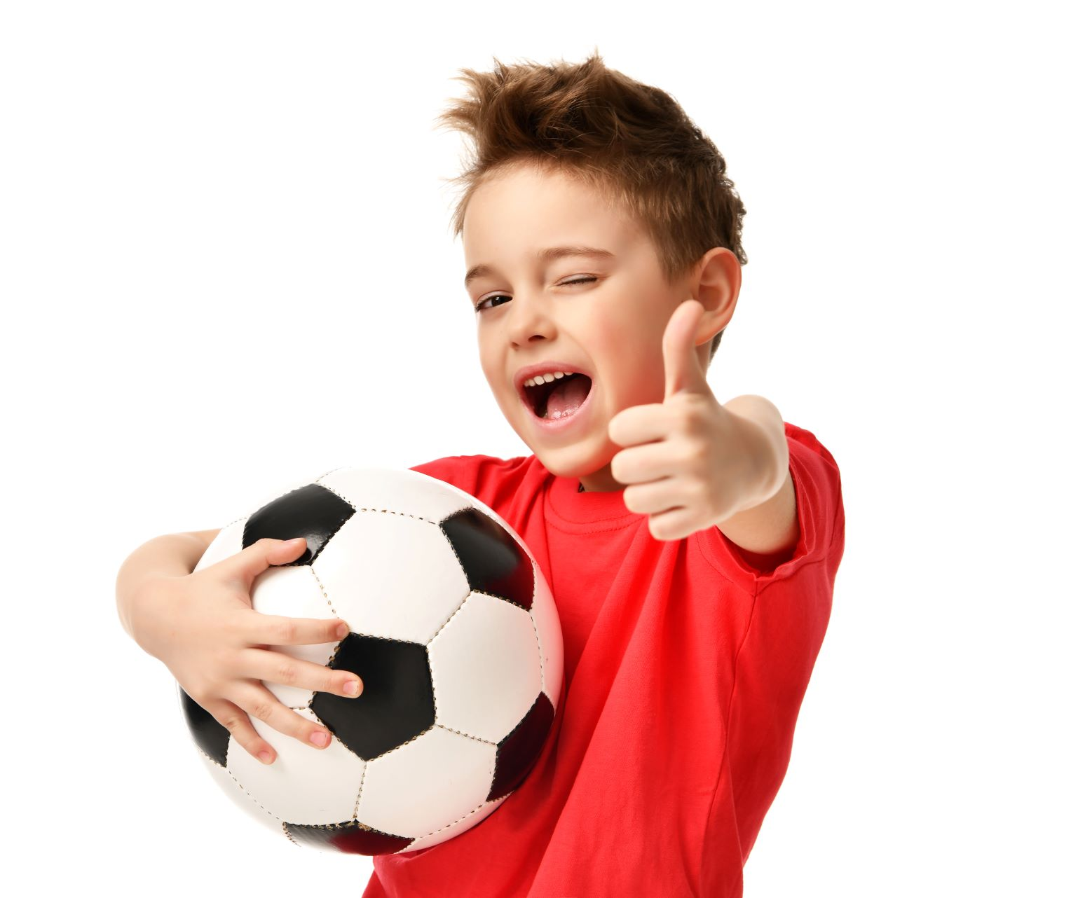 With the proper precautions, your soccer player can happily kick it, injury free!