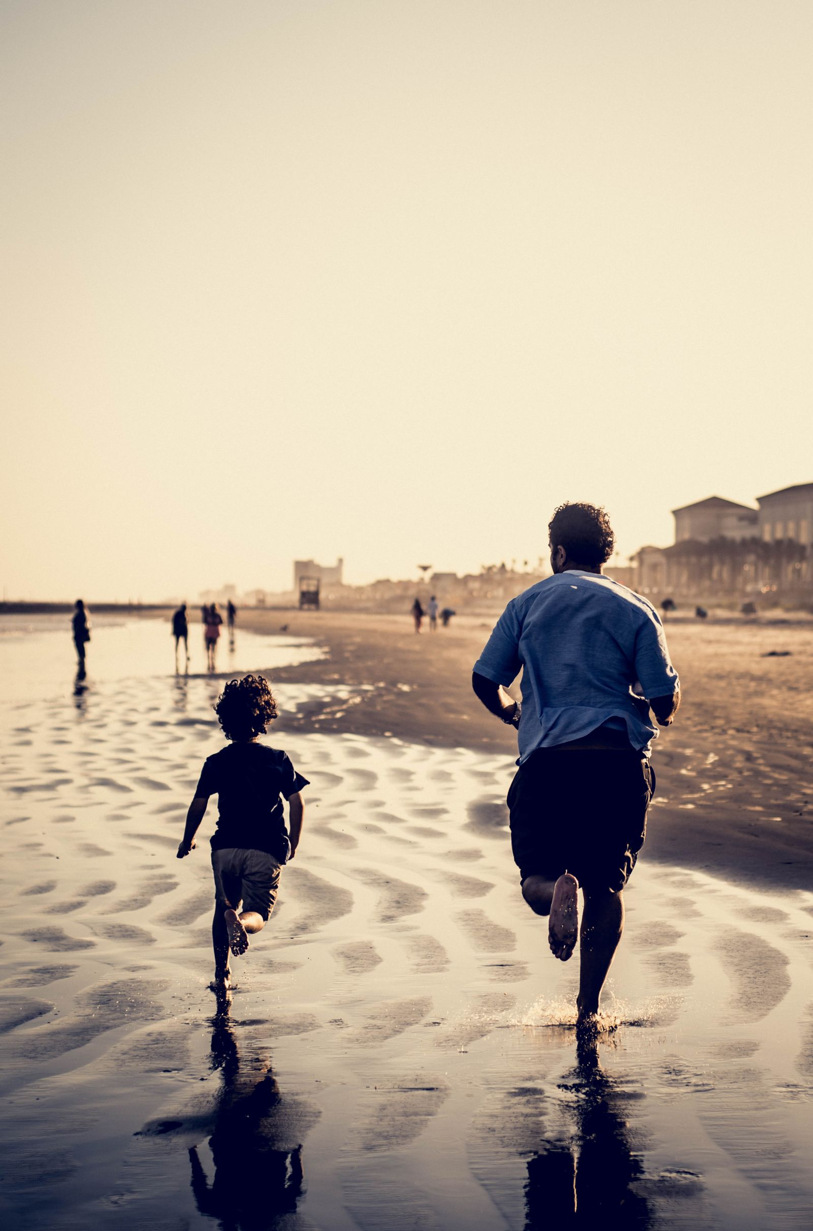 Instead of hitting the treadmill, consider taking your runs outdoors with your family!