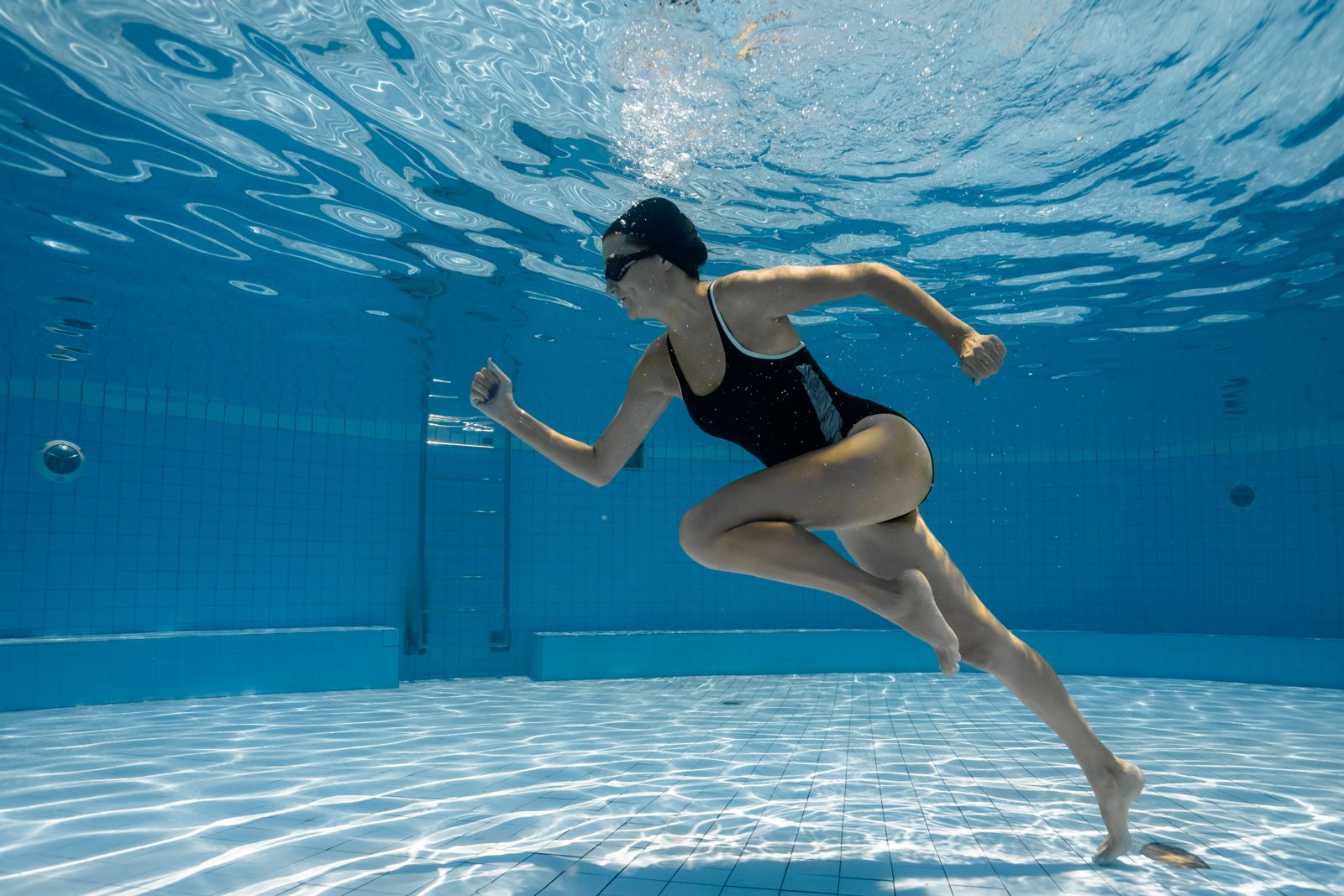 Running in the pool is the perfect cross-training solution to avoid injuries
