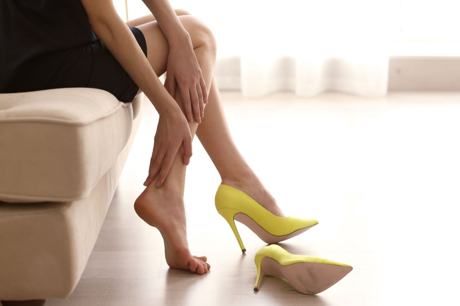 Tips to stop pain from wearing high heels