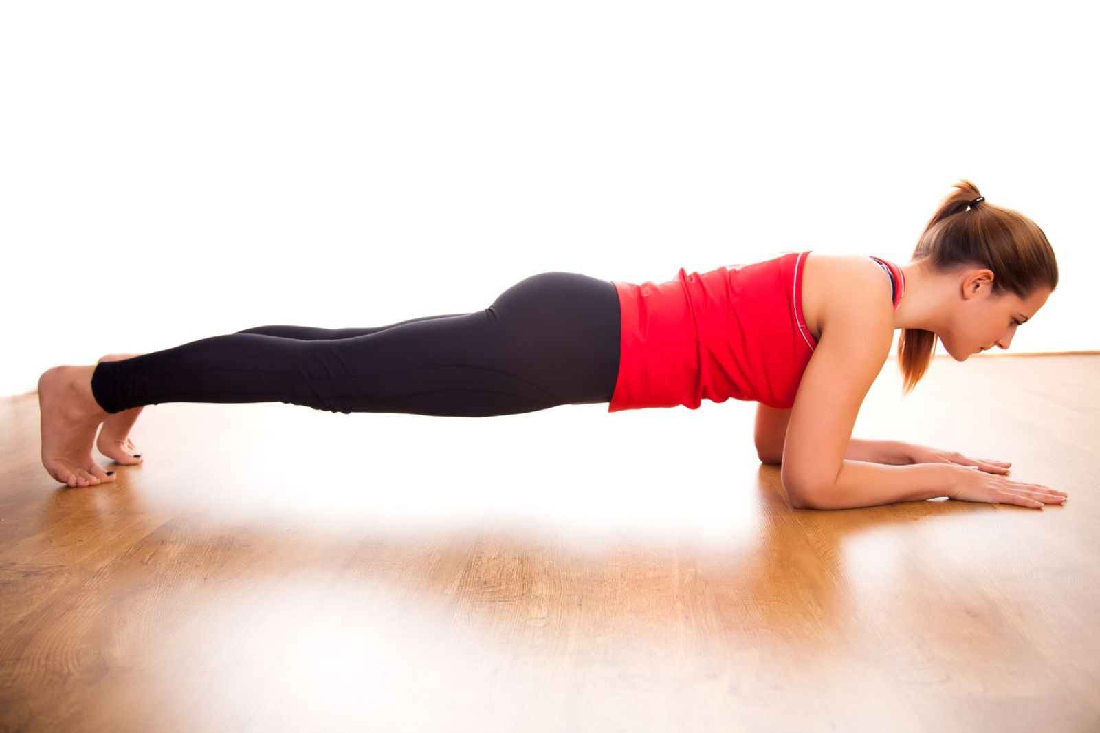 This is one way to strengthen your body core, but you need to work on your foot's core, too!