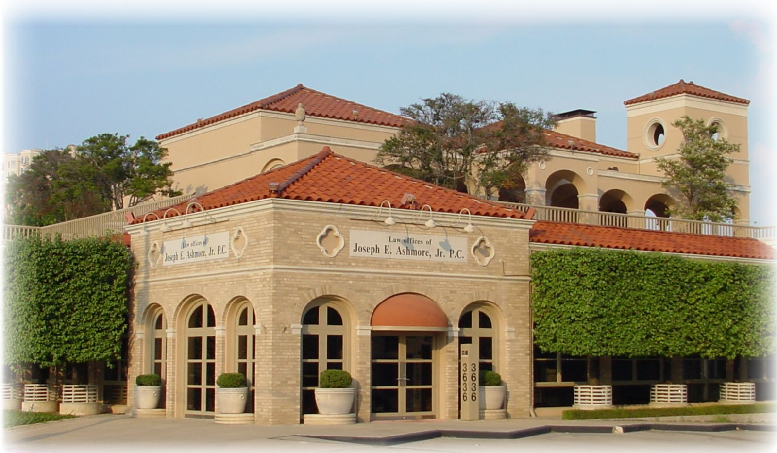 The Ashmore Law Firm Building Legal Services