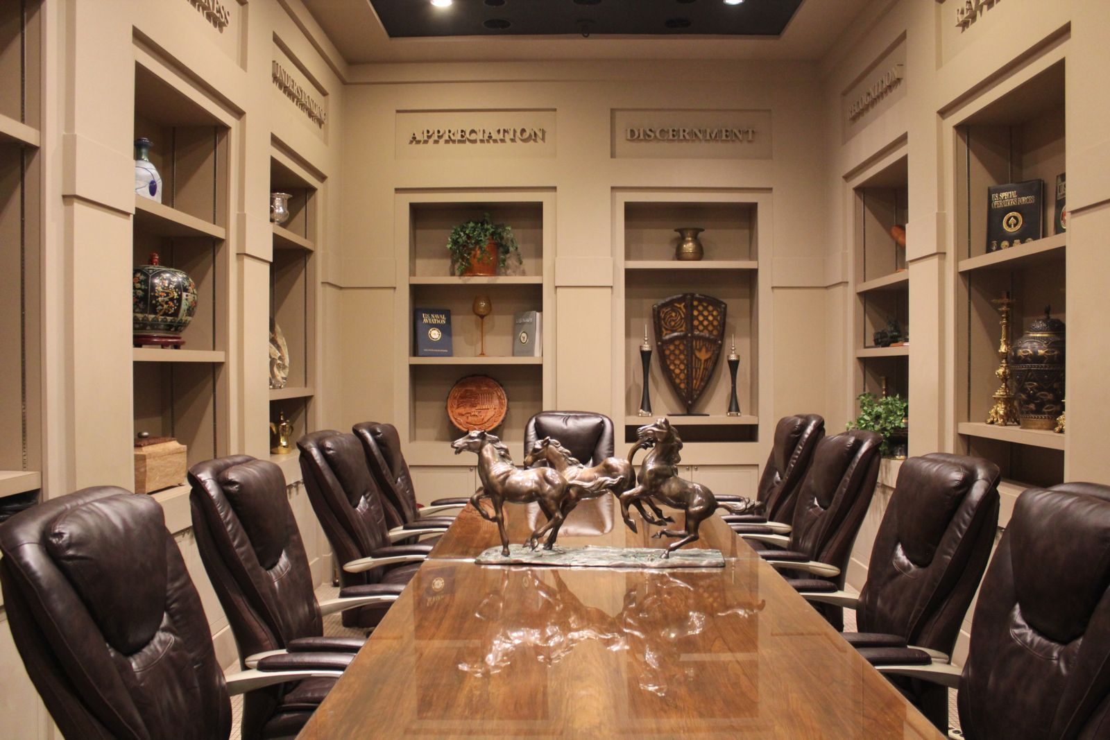 The Ashmore Law Firm Client Conference Room Dallas Texas