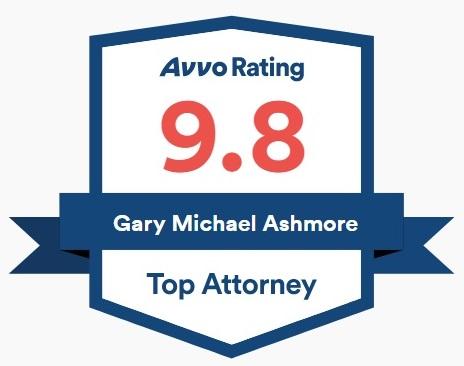 Gary Ashmore Avvo Rating Top Attorney