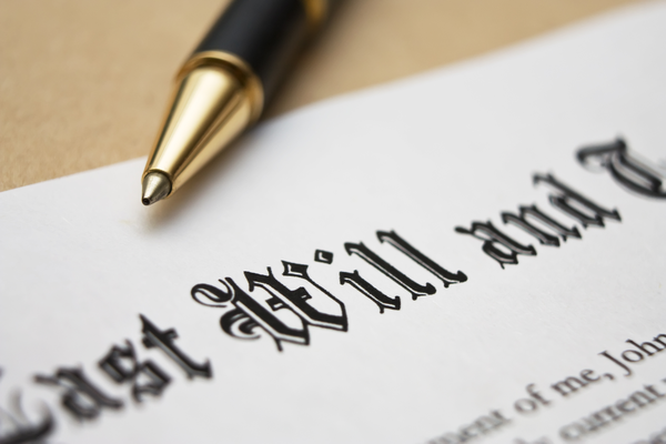 Last Will and Testament Signing Will Contest
