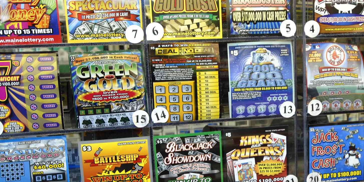 Lottery Winner Scratch Off Ticket Estate Planning