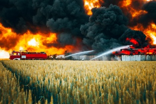 A Farm Without Fire Coverage for Commerical Properties