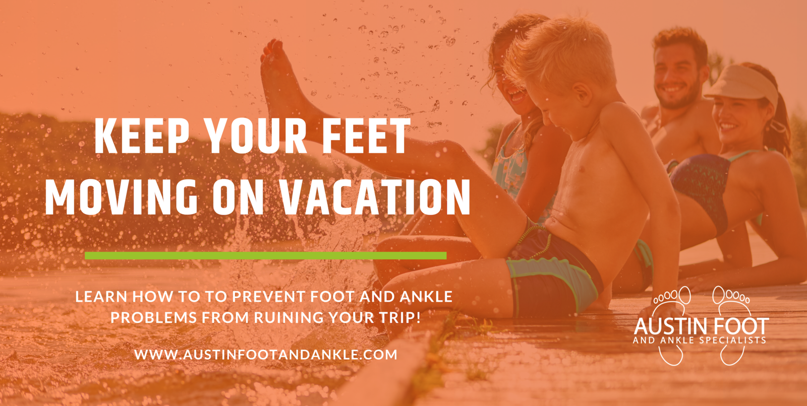 keep feet healthy on vacation