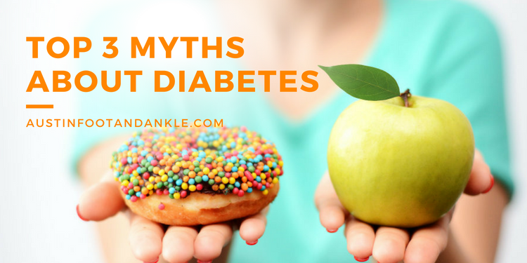 Top 3 Myths About Diabetes